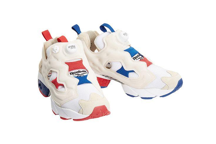 Sneakers femme - Reebok Pump Fury x Maison Kitsuné