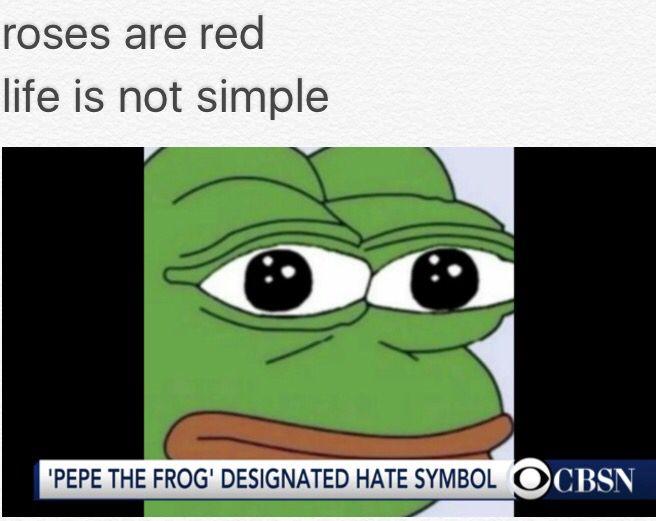 I felt so bad for Pepe.... So ironic