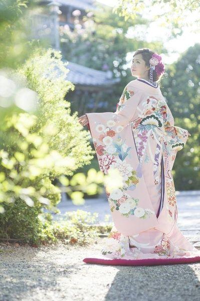 CUCURU 桃色刺繍花車