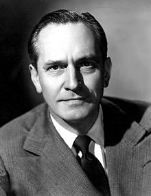 Fredric March-Distinguished actor of stage and screen. B: August 31, 1897-D: April 14, 1975.
