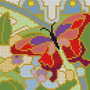 Treglown Designs X-155 Deco Butterfly Orange