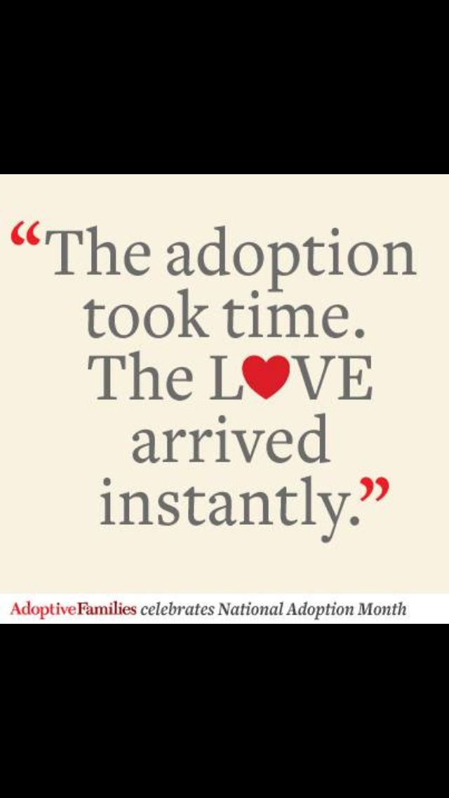 Nov is National Adoption Month