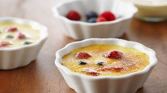 Fresh Berry Crème Brûlée | Bake With Anna Olson