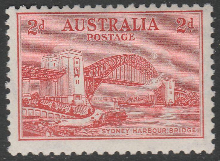 KGV 1914 - 1936 2d Sydney Harbour Bridge Typo MUH. Find more KGV 1914 - 1936 at Stamp Shop
