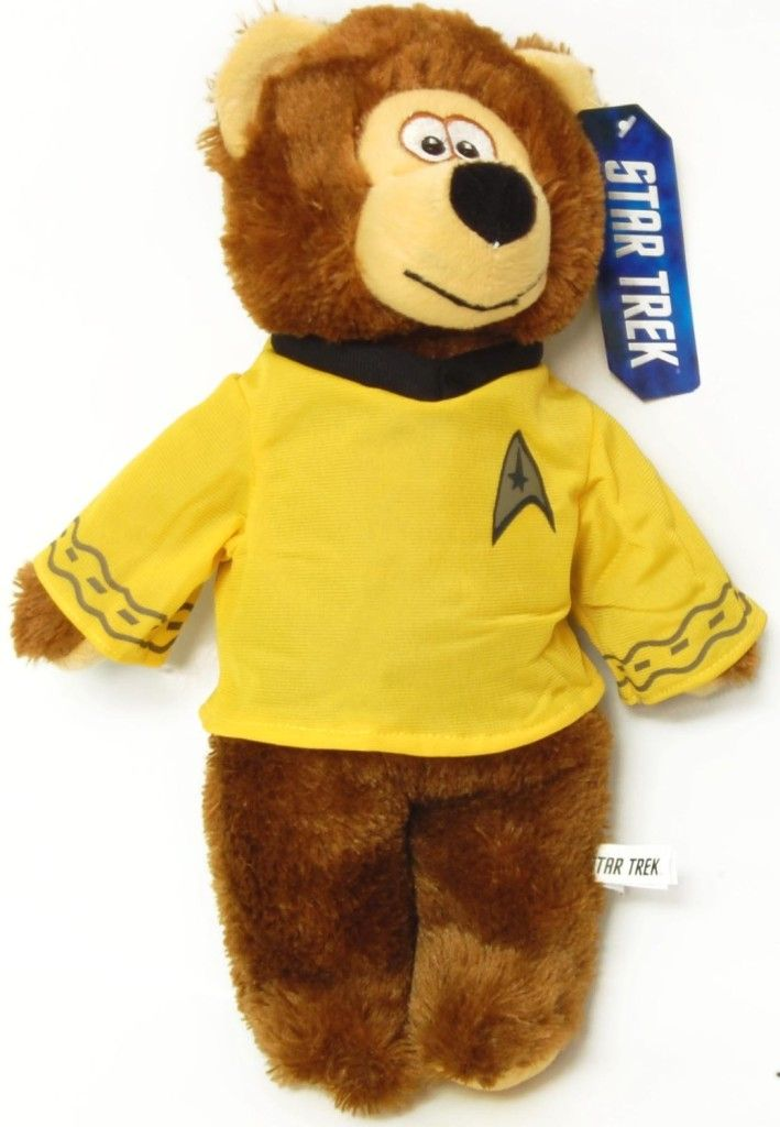"""Star-Trek-Gifts-For-The-Star-Trek-Fan-Captain-Kirk-13""""-Plush Bear"""
