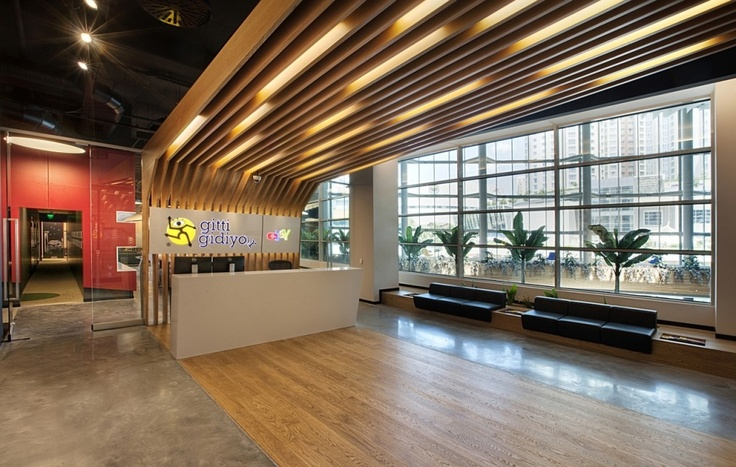 "The new office of ""E-bay – Gitti Gidiyor"" which is one of the most important players of e-trade in global and local markets is located in My Office Building in Istanbul Atasehir"
