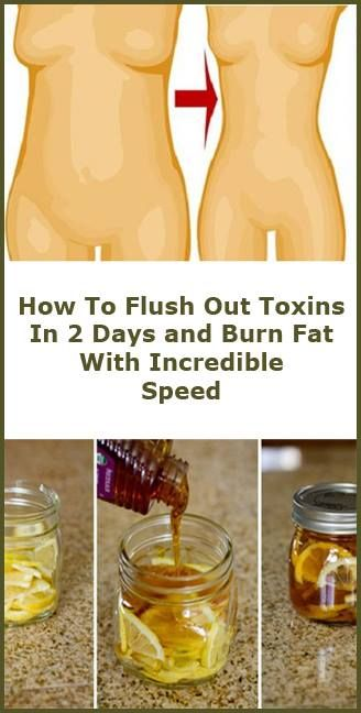 How To Flush Out Toxins In 2 Days and Burn Fat With Incredible Speed