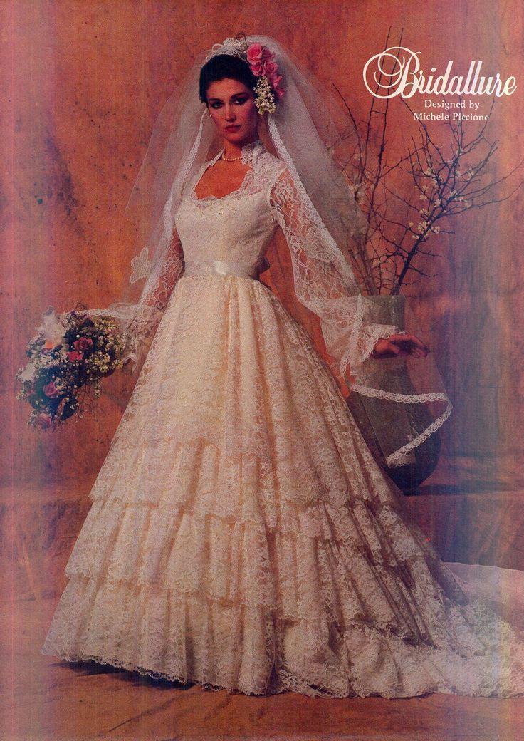 778 best NOVIAS VINTAGE images on Pinterest   Bridal gowns, Short ...