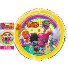 "Trolls Movie 18"""" Round Foil Helium Metallic Balloon"