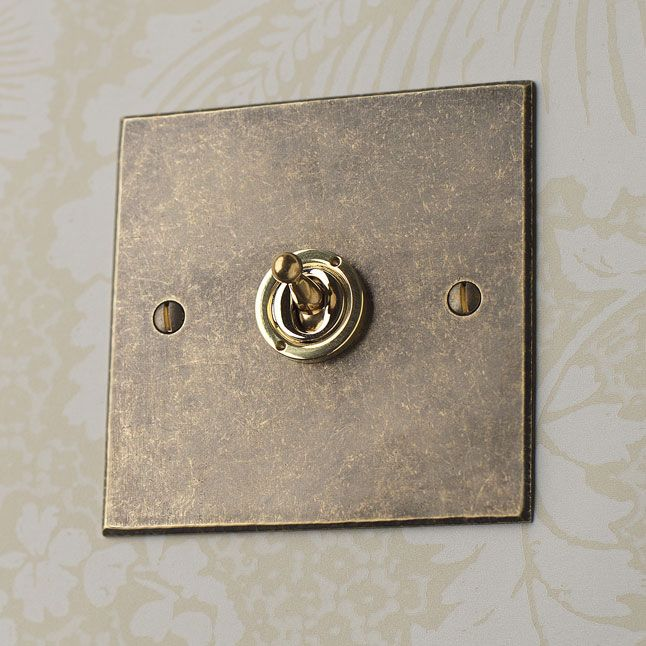 These dolly #switches are perfect for a #period home. They are extremely functional yet attractive.