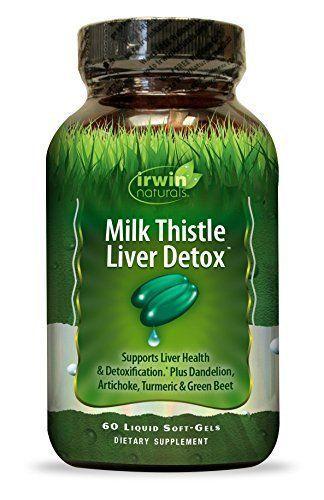 Milk thistle for alcohol detox