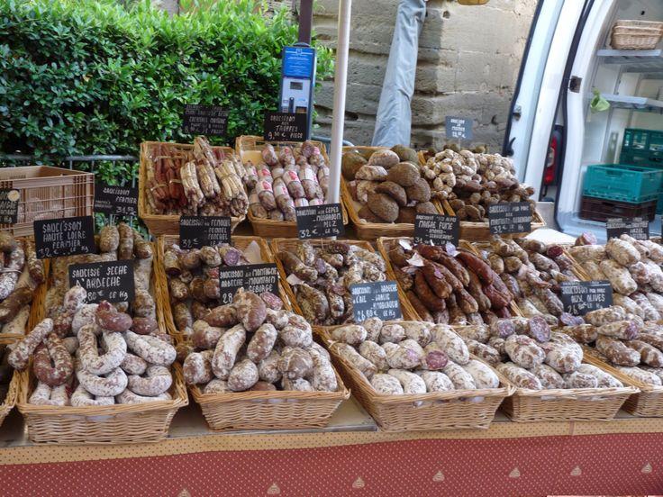Markt in Vaison la Romaine