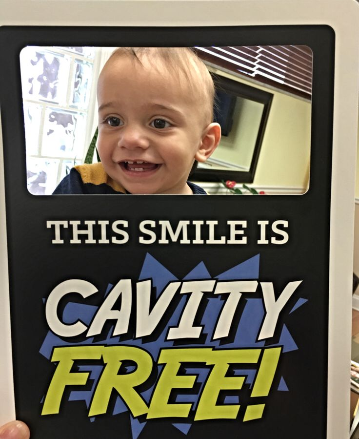 Cavity free its never too early to have a check up