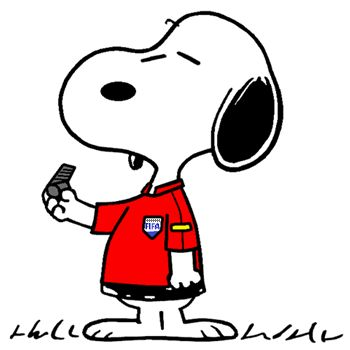 Snoopy - The World Famous Soccer Referee at the Euro 2016