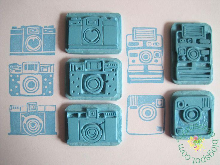 SoroScrap: Sellos Carvados - Camaras de Fotos
