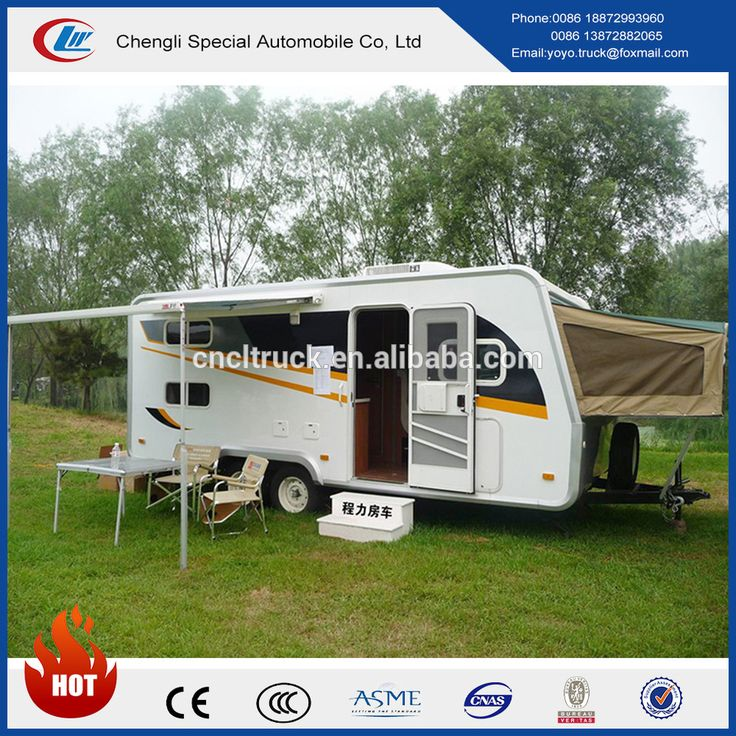 China tractor type 6.5m length popular motorhome for sale