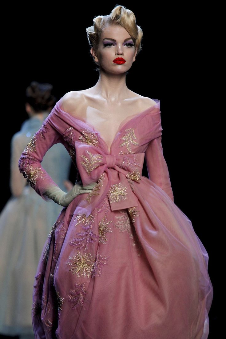 Christian Dior Haute Couture  Don't know where I would wear this too but I'm sure I could find an occasion, hell I'd  create the occasion for this