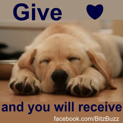 Give <3 .. just because!!