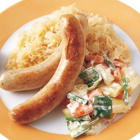 ソーセージプレート | 広沢京子さんのおつまみの料理レシピ | プロの簡単料理レシピはレタスクラブネット
