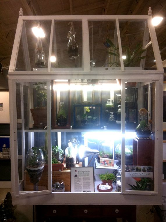 28 best images about indoor greenhouse on pinterest for How to make a small indoor greenhouse