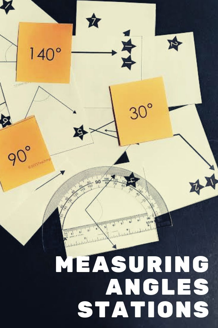 Measuring Angles Stations Math Stations 4th Grade Math Math Lesson Plans [ 1102 x 735 Pixel ]