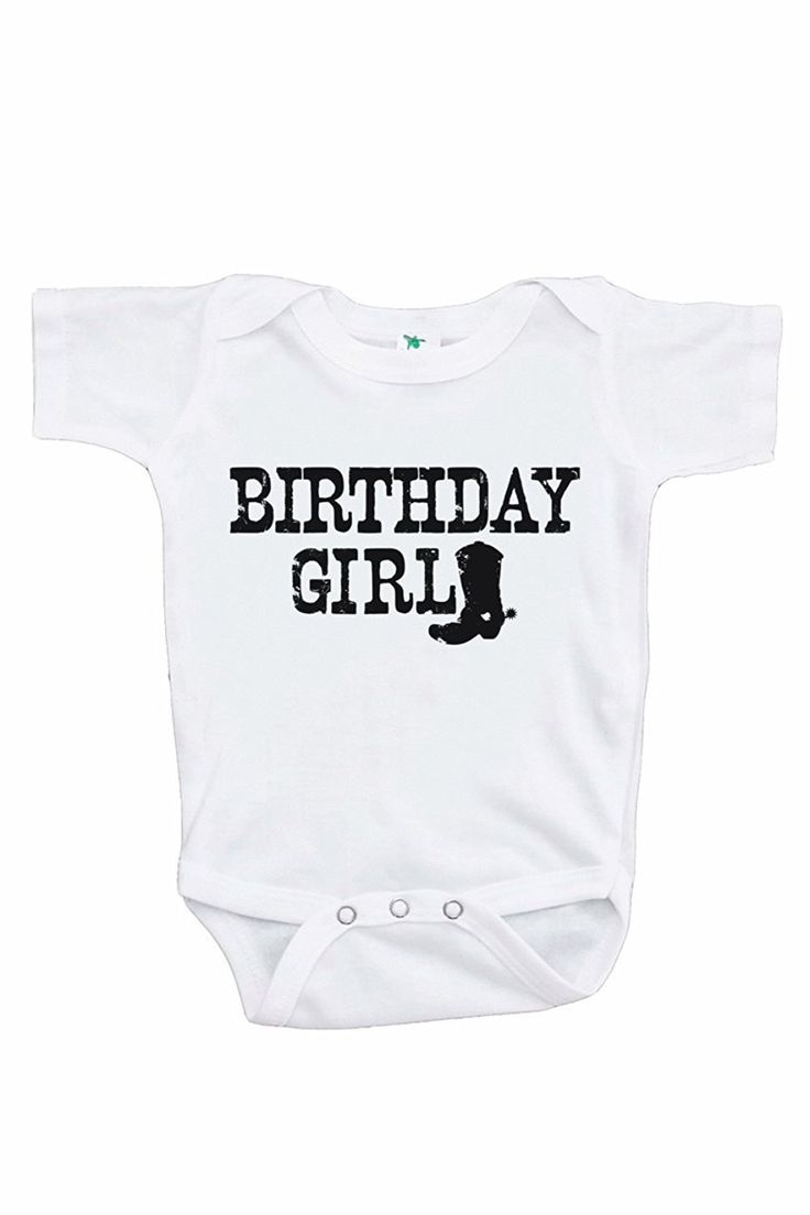 7 ate 9 Apparel Girl's Cowgirl Birthday Onepiece