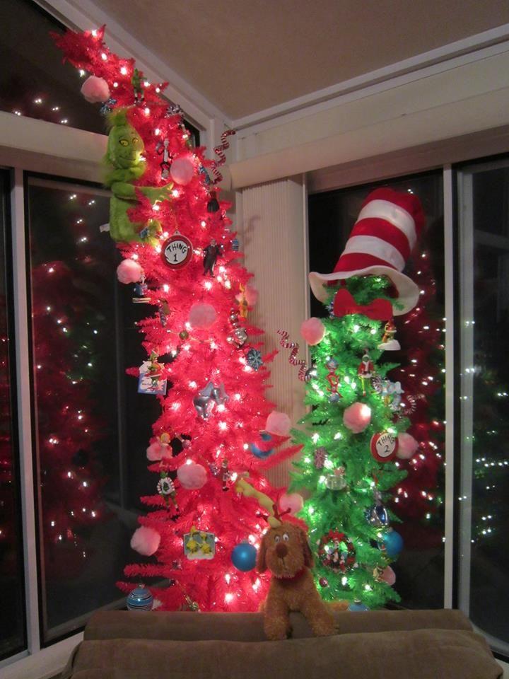 Dr. Seuss Christmas Trees! (Hobby Lobby)
