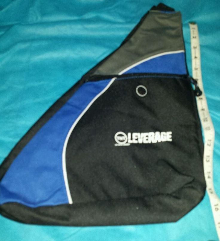 Leverage TV series show TNT sling messenger bag