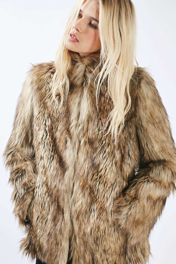 1000  ideas about Fur Jackets on Pinterest | Blue fashion Fur