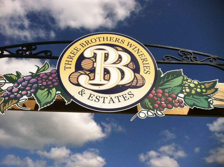 Three unique wineries and a microbrewery, all on one estate. More → http://3brotherswinery.com/