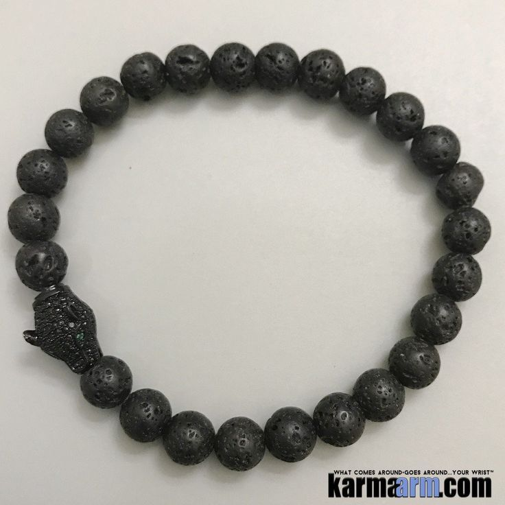 Black Panther Bracelet | This totem animal encourages us to understand the power within the shadows and to acknowledge these powers to help eliminate our fear of the dark and unknown..#Mens #Good #Lucky #womens #Jewelry #CrystalsEnergy #gifts #Chakra #reiki #Healing #Kundalini #Law #Attraction #LOA #Love #Mantra #Mala #Meditation #prayer #mindfulness #wisdom #CrystalEnergy #Spiritual #Gifts #Mommy #Blog #friendship #Stacks  #Black #Panther #BlackPanther