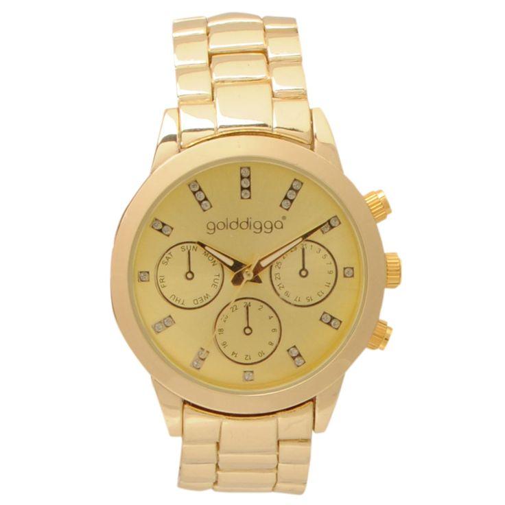 Golddigga | Golddigga Brace Watch Ladies | Watches