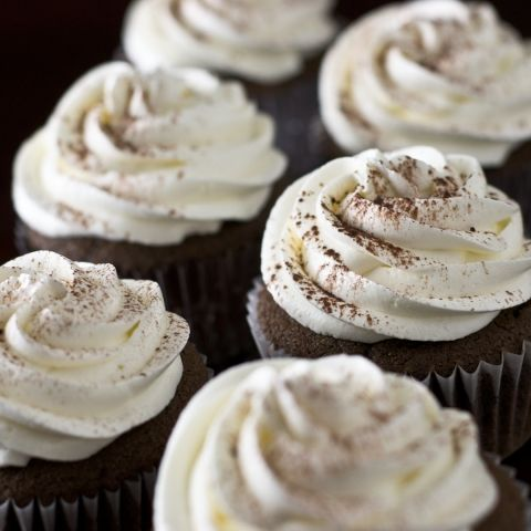 Nutella Cupcakes with Cream Cheese Frosting | Cupcakery | Pinterest ...