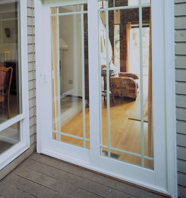Close Up Of Patio Doors With Perimeter Grids To Adore