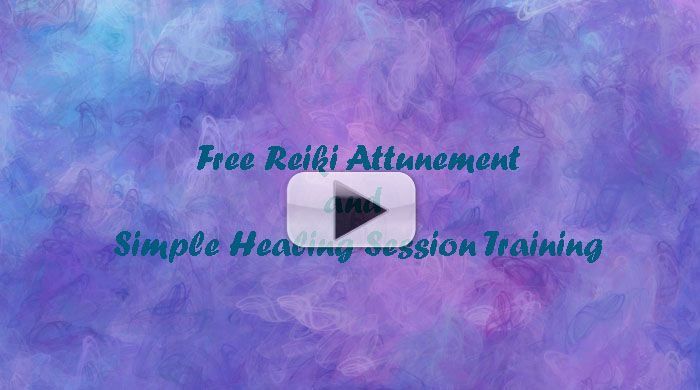 Free Reiki Attunement and Healing Session Training