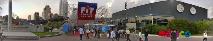Panorámica acceso a La Rural Feria Internacional de Turismo 2014. #FIT2014