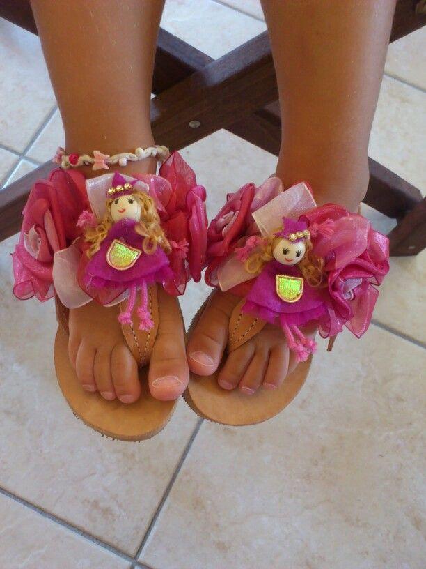 Princess handmade sandals
