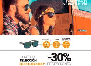 30% de descuento en la mejor selección de gafas de sol polarizadas
