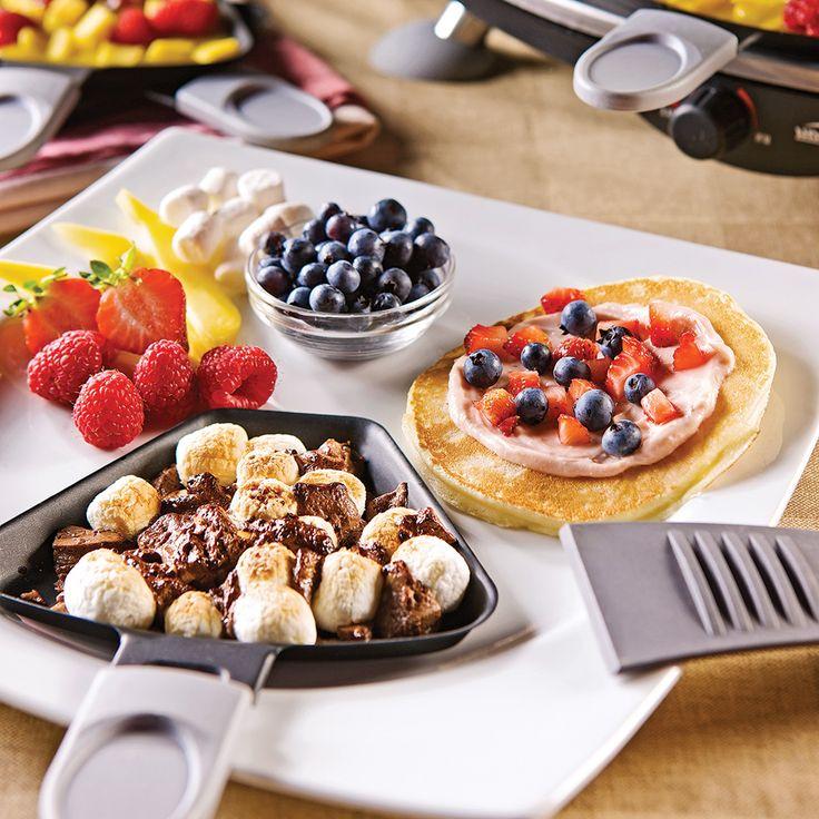 Façonnez de délicieuses crêpes dessert sur le gril pour le plus grand bonheur des petits… et des grands!