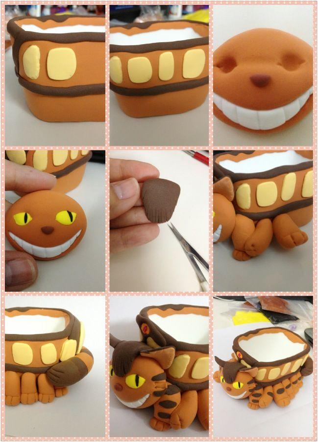DIY Cat Bus - Totoro