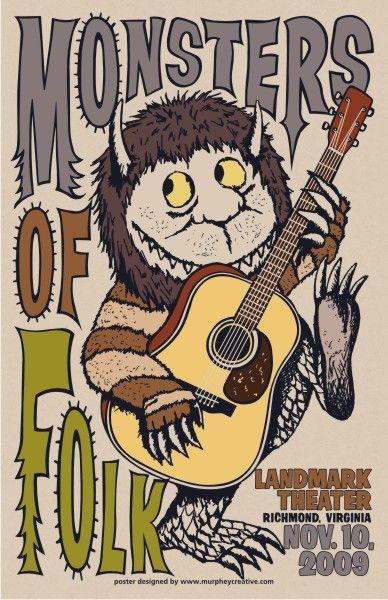 monsters of folk music posters | ... .com » Blog Archive » Monsters of Folk @ Landmark Theater