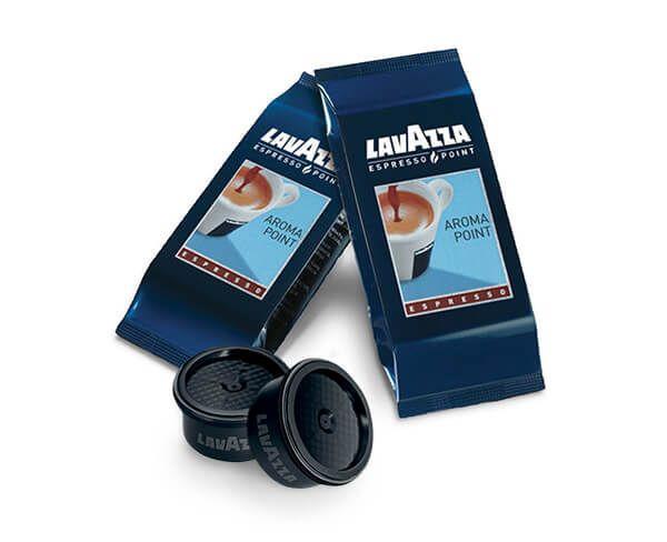 L'Alveare Del Caffè...Il Gusto Del Piacere, propone la qualità delle capsule aroma point Lavazza Espresso Point. Le capsule sono disponibili nel formato da 100 pezzi.