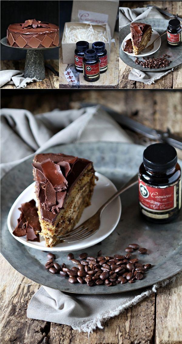 Layered Coffee & Cream Cake | Cakes, cupcakes, mug cakes etc ...