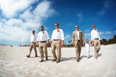 #DBBridalStyle    Beach Wedding Groomsmen
