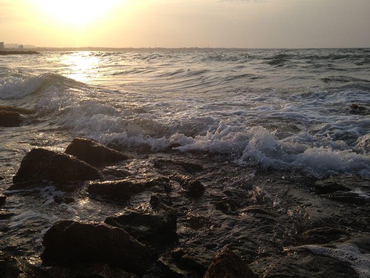 ...como las olas