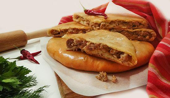 Рецепт Кубдари – сванского пирога с мясом (Kubdari). Ароматный, острый, очень сочный