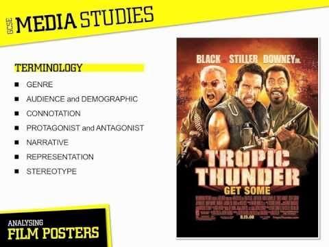 Media Studies - Film Posters - YouTube  GCSE MEDIA STUDIES
