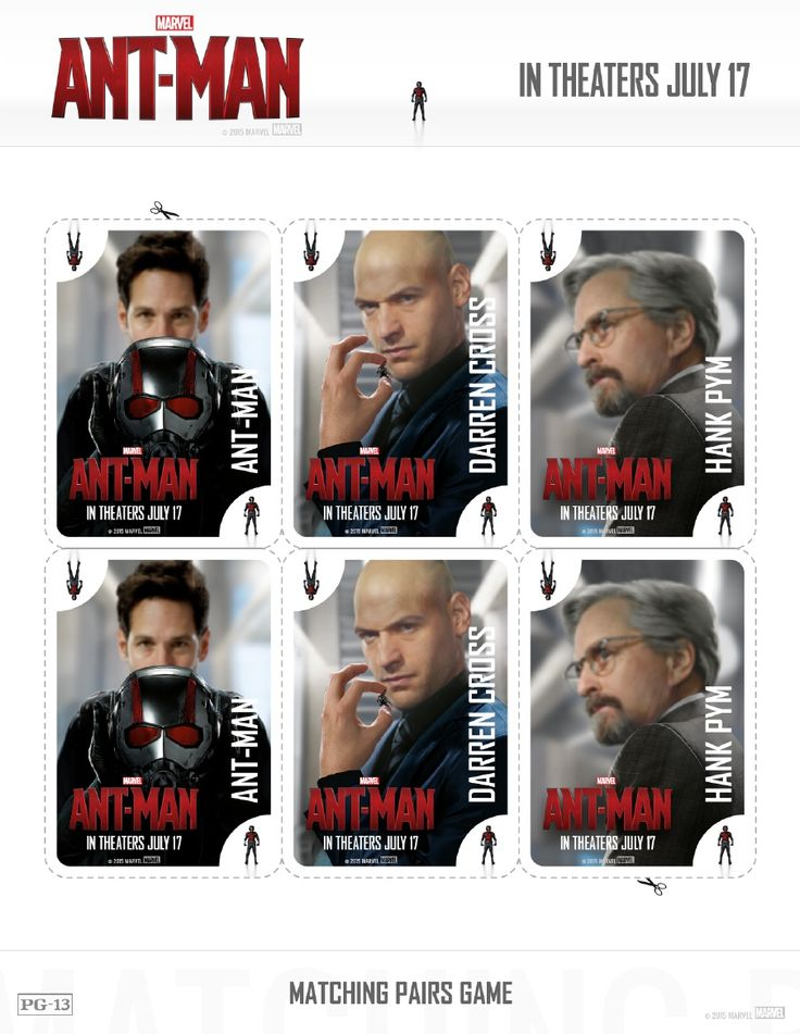 ant man family pack