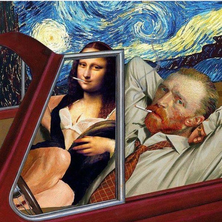 #vincent #van #gogh #vangogh #wallpaper #monalisa #davinci #mona #lisa #populer #culture #iphone #selfie #modernart #modern #art #paint #oilpainting #android #starrynight #starry #night #sex #sexual