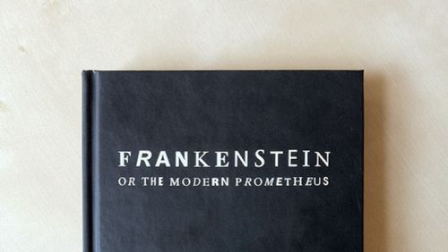An edition of Mary Shelley's Frankenstein laid out using characters and glyphs from PDF documents obtained through internet searches. The incomplete fonts found in the PDFs were reassembled into the text of Frankenstein based on their frequency of use. The most common characters are employed at the beginning of the book, and the text devolves into less common, more grotesque shapes and forms toward the end. (via The Frankenfont project reconstructs Mary Shelley's classic Frankenstein using…